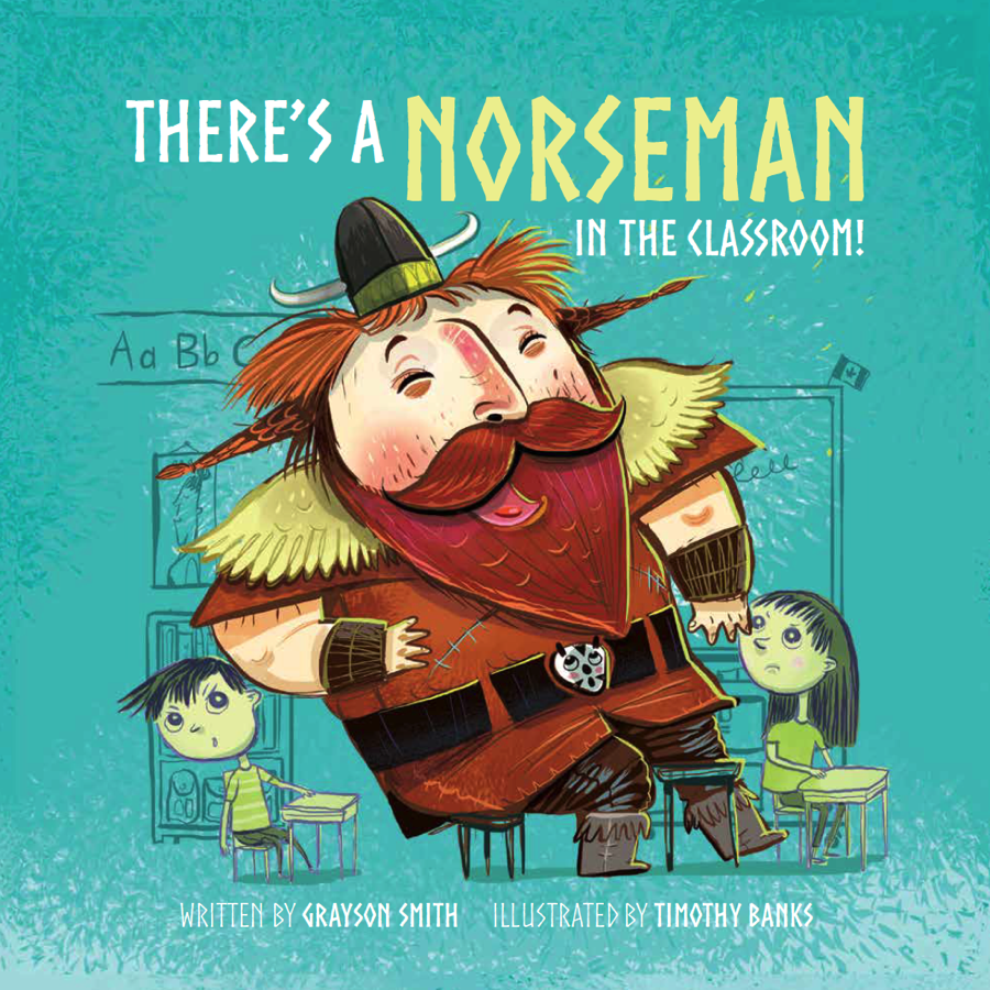 There's a Norseman in the Classroom! cover