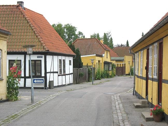De små gader i Maribo