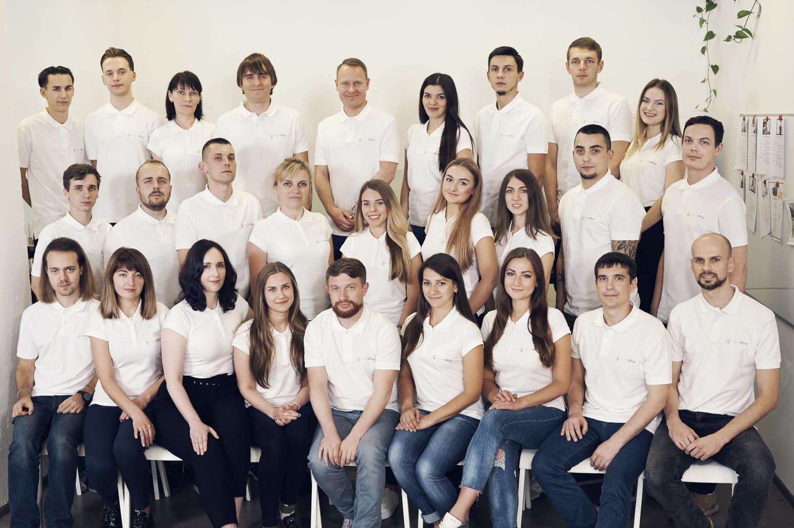 About us Ukrainian team