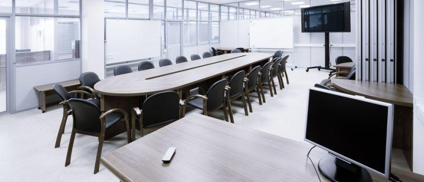 Show salas de reuniones