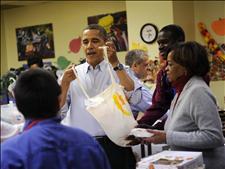 Obama llama a la unidad política con motivo del día de Acción de Gracias