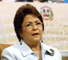 Alejandrina Germán destaca avances RD en lucha contra violencia a mujeres