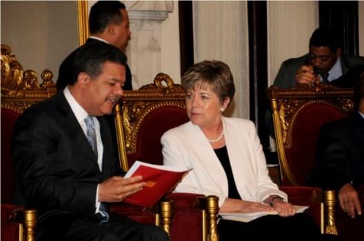Secretaria ejecutiva de la Cepal propone un pacto fiscal en RD