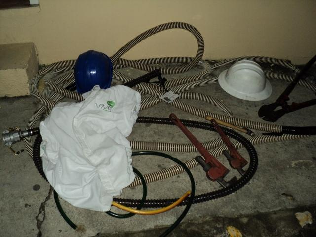Desmantelan banda robaba combustible en depósitos de antenas telefónicas