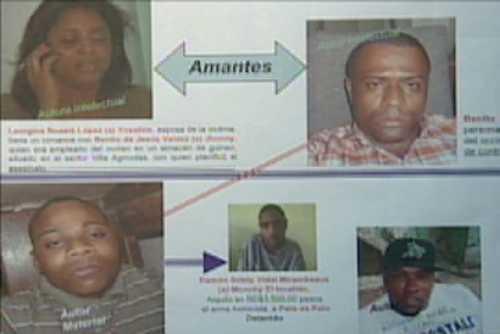 Mujer habría pagado por asesinato de su esposo en avenida Charles Summer
