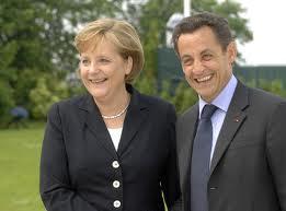 Merkel y Sarkozy se reúnen para buscar soluciones a la crisis de la Eurozona
