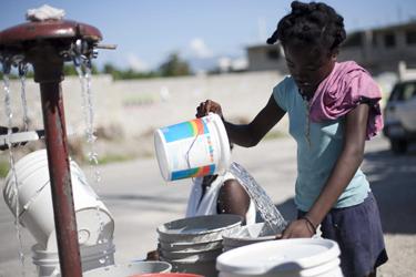 Haití solo ha conseguido el 27% de los fondos para luchar contra el cólera