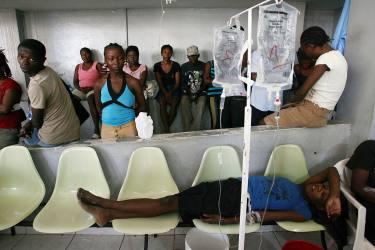 Cólera llegó a Haití con los cascos azules nepalíes, según informe