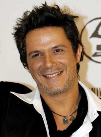 Alejando Sanz llegó a México para participar en el programa