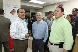 Banco León celebra la Navidad con clientes de la Duarte