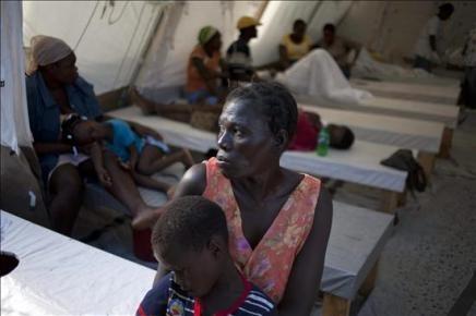 Autoridades haitianas informan de 3 mil 889 muertos por cólera