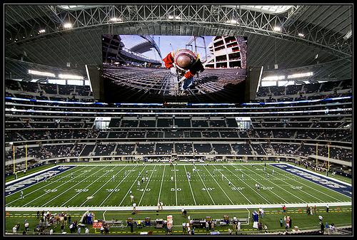 El techo del Cowboys Stadium será cerrado para el partido del Super Bowl