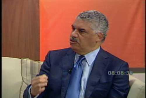 Miguel Vargas dice no habrá borrón y cuenta nueva en caso de ganar la Presidencia
