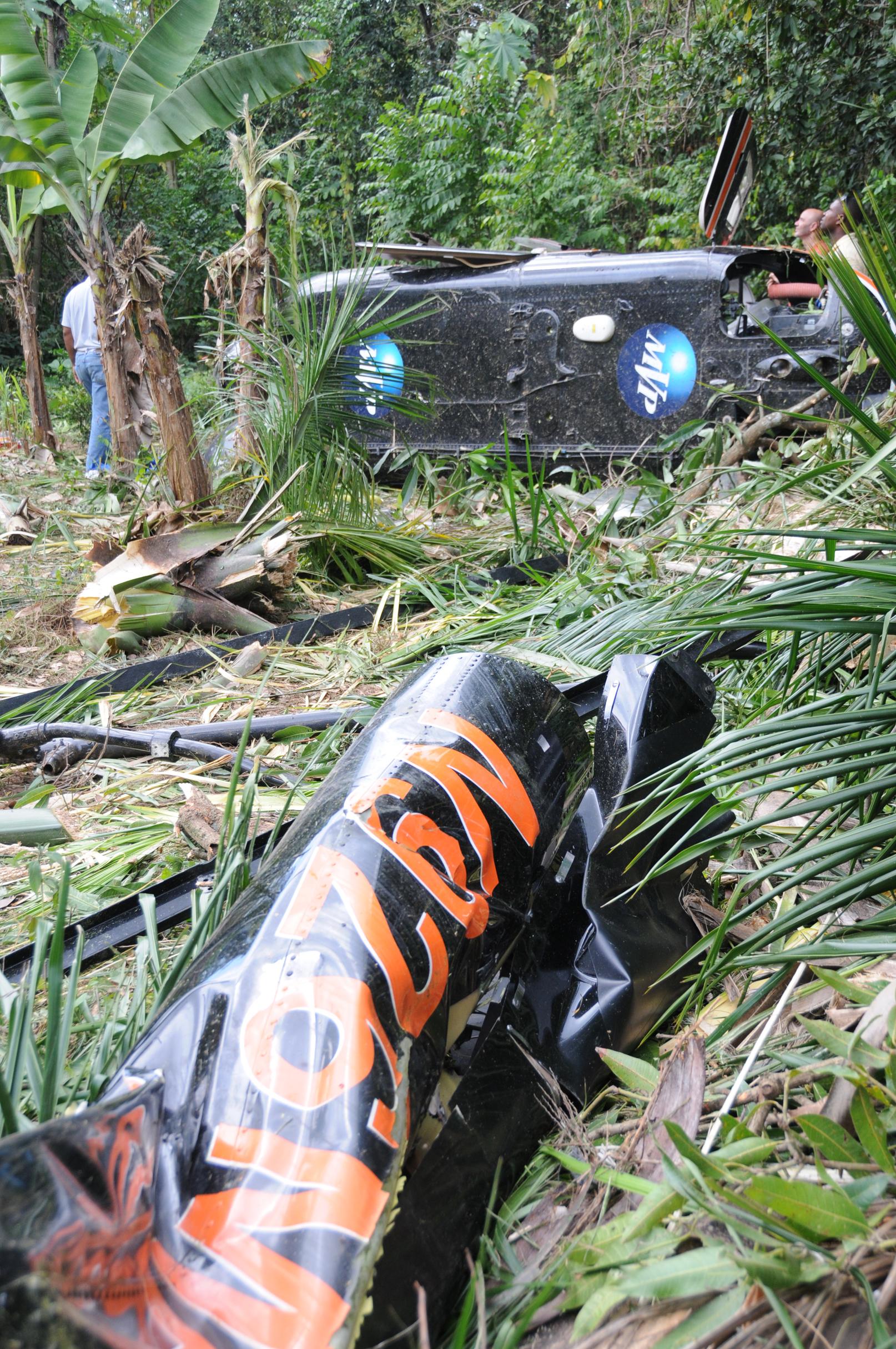 Cae helicóptero de Vargas Maldonado, pilotos resultan heridos
