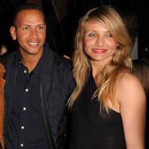 Alex Rodríguez y Cameron Díaz, juntos, entre las muchas celebridades