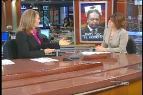 Alicia Ortega presenta exclusiva mundial de entrevista a Duvalier desde Univisión