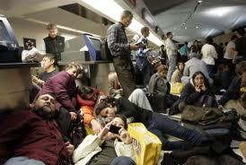 Un apagón deja sin electricidad al aeropuerto internacional de Newark