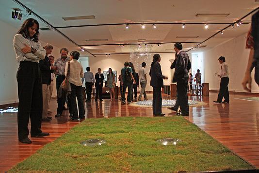 Diecisiete artistas contemporáneos de RD en el Centro Municipal de Arte y Cultura de Machala, Ecuador