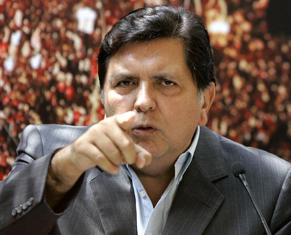 Alan García pide a la ONU que actúe frente a