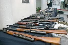 Medina envía al Senado proyecto tratado sobre comercio de armas