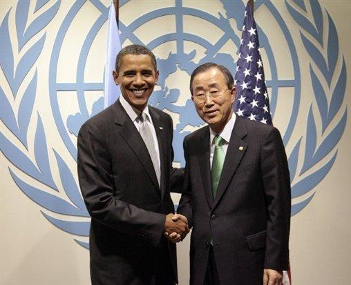 Obama analiza este lunes con Ban Ki-moon nuevas sanciones contra el régimen libio