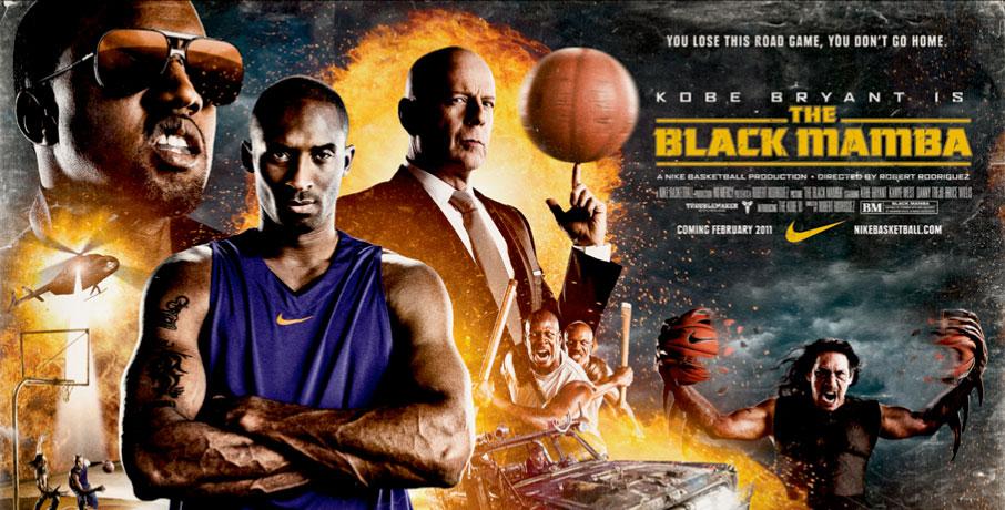 Kobe hace su debut en el cine en El Black Mamba