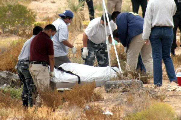 Hallan cinco cadáveres mutilados en el norte de México