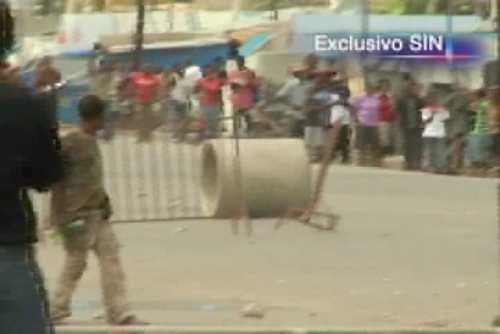 Cientos protestan en Haití para que Preval abandone el poder