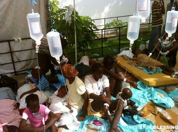 La ONU afirma que el cólera se estabiliza en Haití aunque seguirá por años