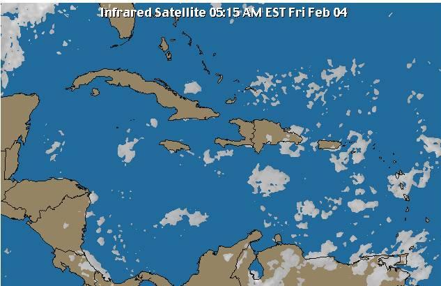 Meteorología indica condiciones del tiempo favorables para este viernes y fin de semana