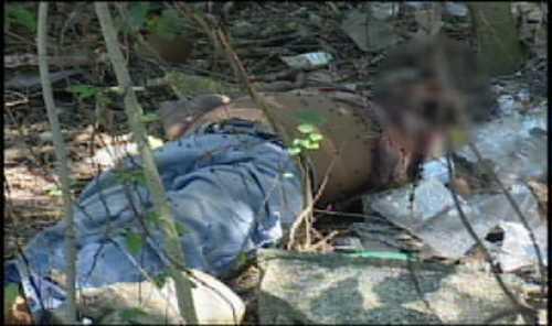 Encuentran cuerpo de motoconchista descuartizado en matorrales en Manoguayabo