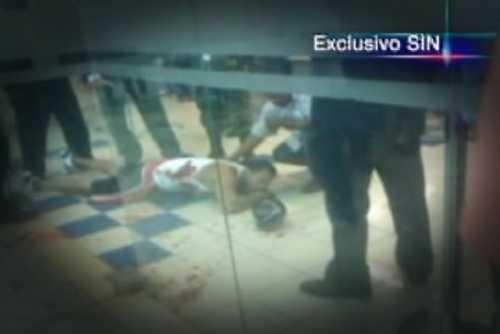 Imágenes exclusivas del momento en que agente de seguridad mata cliente de Ede Este