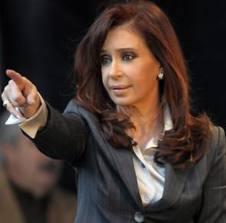 Patrimonio de presidenta argentina creció un 27% en 2010