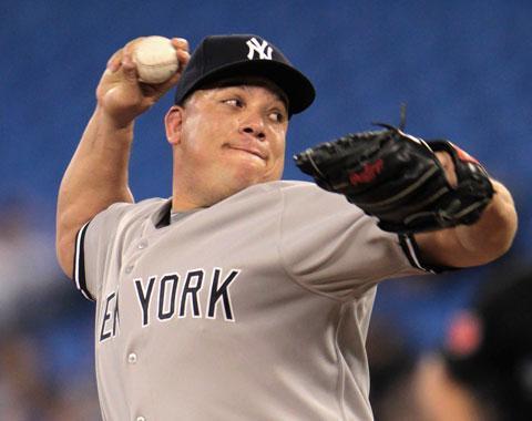 Bartolo Colón ponchó a siete y Yankees ganan