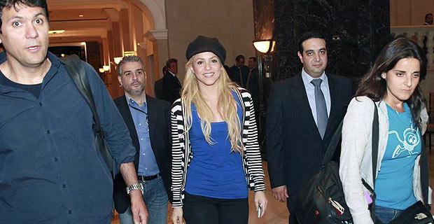 Shakira Lleva su espectaculo