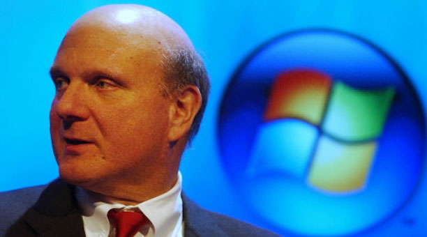 Steve Ballmer confirma la llegada en 2012 de Windows 8