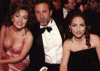 Emilio y Gloria Estefan expresan condolencias a Thalia por muerte de su madre