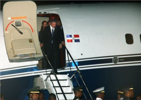 Presidente Fernández llega al país de su viaje a Nueva York