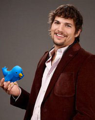 El actor Ashton Kutcher lanza su propia aplicación para Twitter