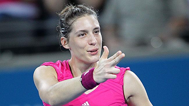 Petkovic derrota a Kirilenko y alcanza su mejor ronda en Grand Slam