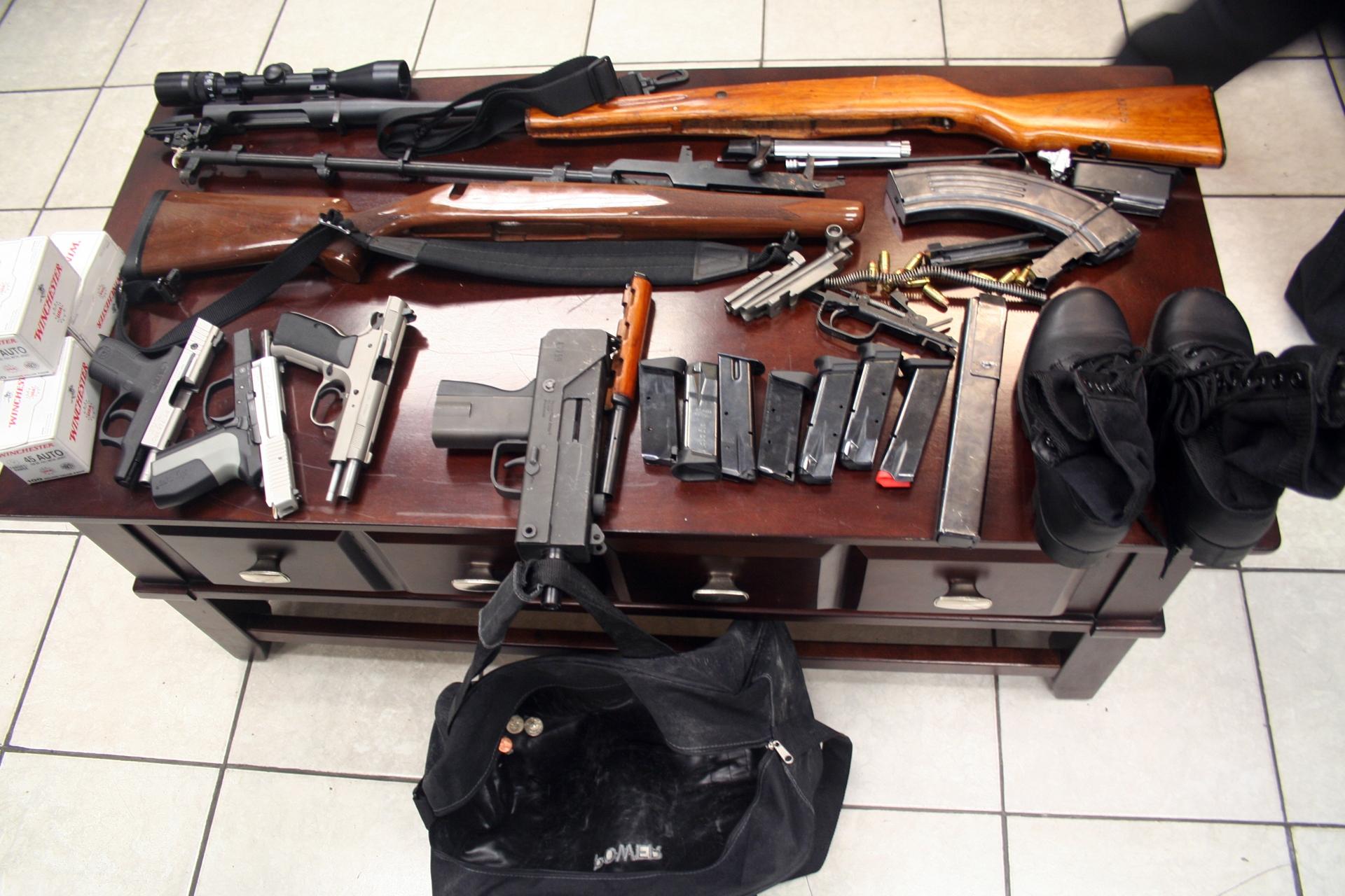 Aduanas incauta cargamento de armas de fuego en Puerto Multimodal Caucedo