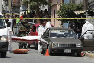 Matan a seis personas, entre ellas cuatro taxistas, en norte de México