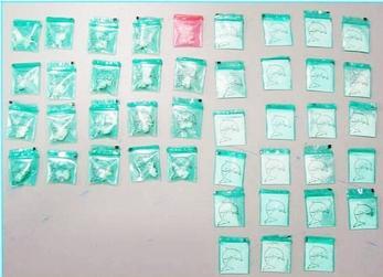 DNCD apresa mujer embarazada con estomago lleno de narcóticos