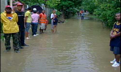 Más de dos mil familias afectadas en Pedro Brand por las lluvias