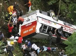 Tres muertos y 19 heridos en choque frontal de autobús con camión en Paraguay