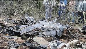 Confirman que 8 personas murieron tras caer un avión militar en sur de Brasil
