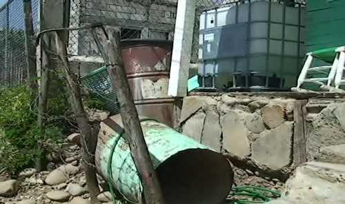 Residentes de Hato del Yaque irritados ante falta de agua