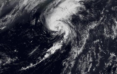 Se forma la sexta depresión tropical del Atlántico al norte de Bermudas