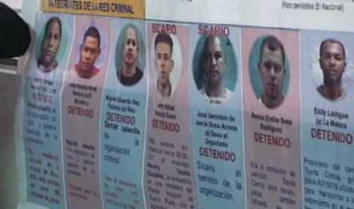 Apresan 6 supuesto sicarios mataron 4 colombianos 1 español y 1 dominicano en Santiago