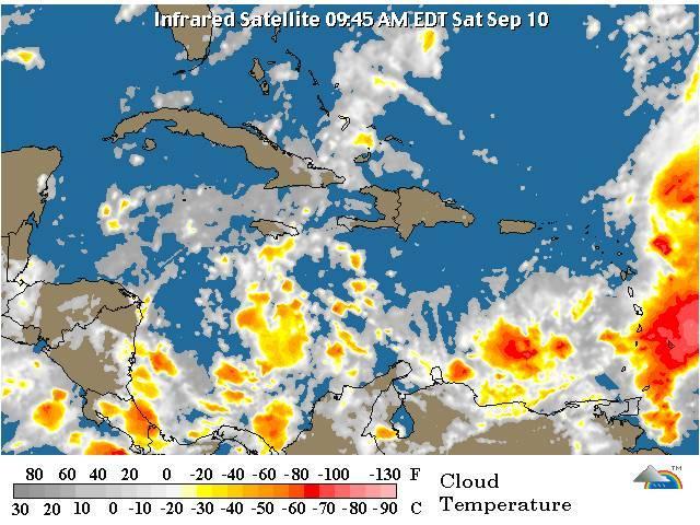 Meteorología informa da seguimiento tormenta María